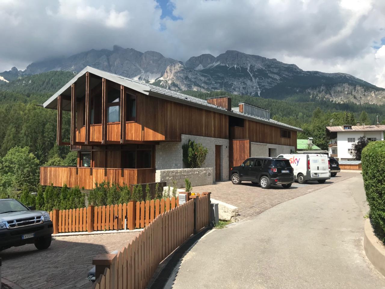 Progetto ristrutturazione residenziale Cortina Va del Castello