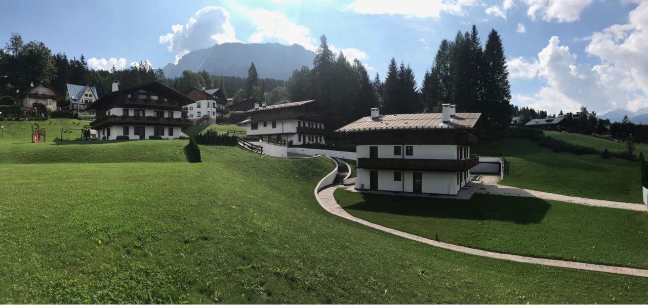 Progetto residenziale Cortina Via Menardi