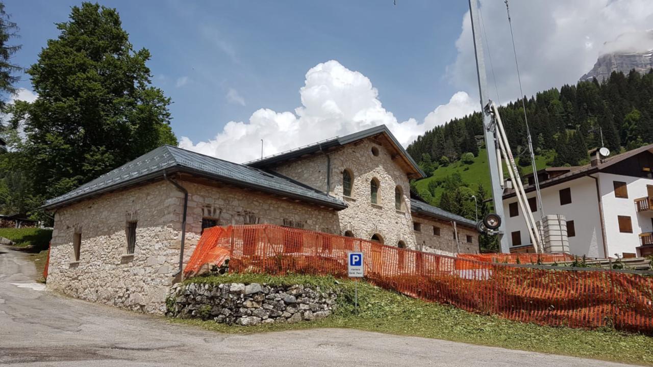 Progetto di restauro del Caselo delle Regole Val di Zoldo
