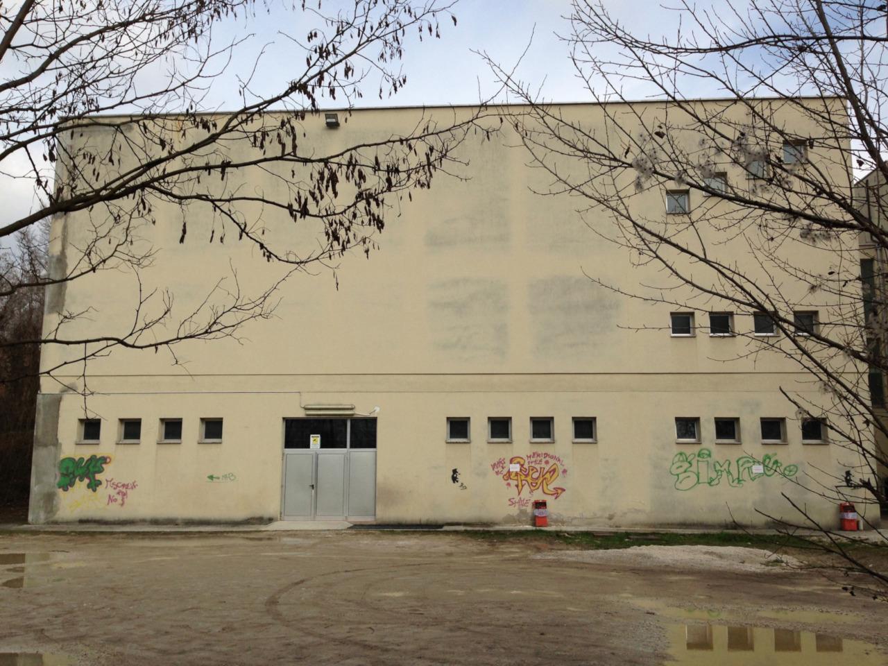 Palestra dell'Istituto Renier di Belluno.