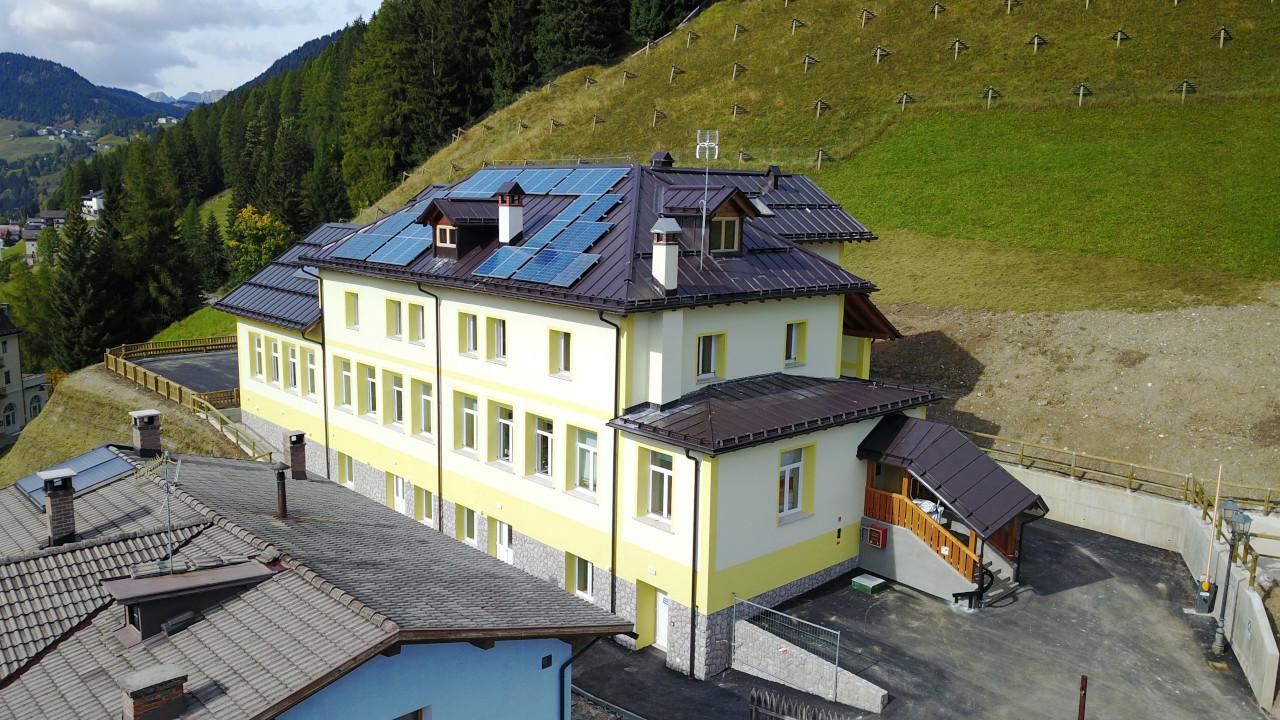 Progetto di ristrutturazione della scuola elementare di Livinallongo del Col di Lana