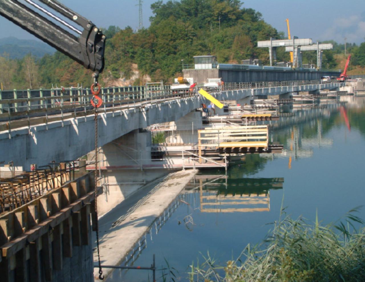 Miglioramento della viabilità della S.P.1 sul fiume Piave in località Busche