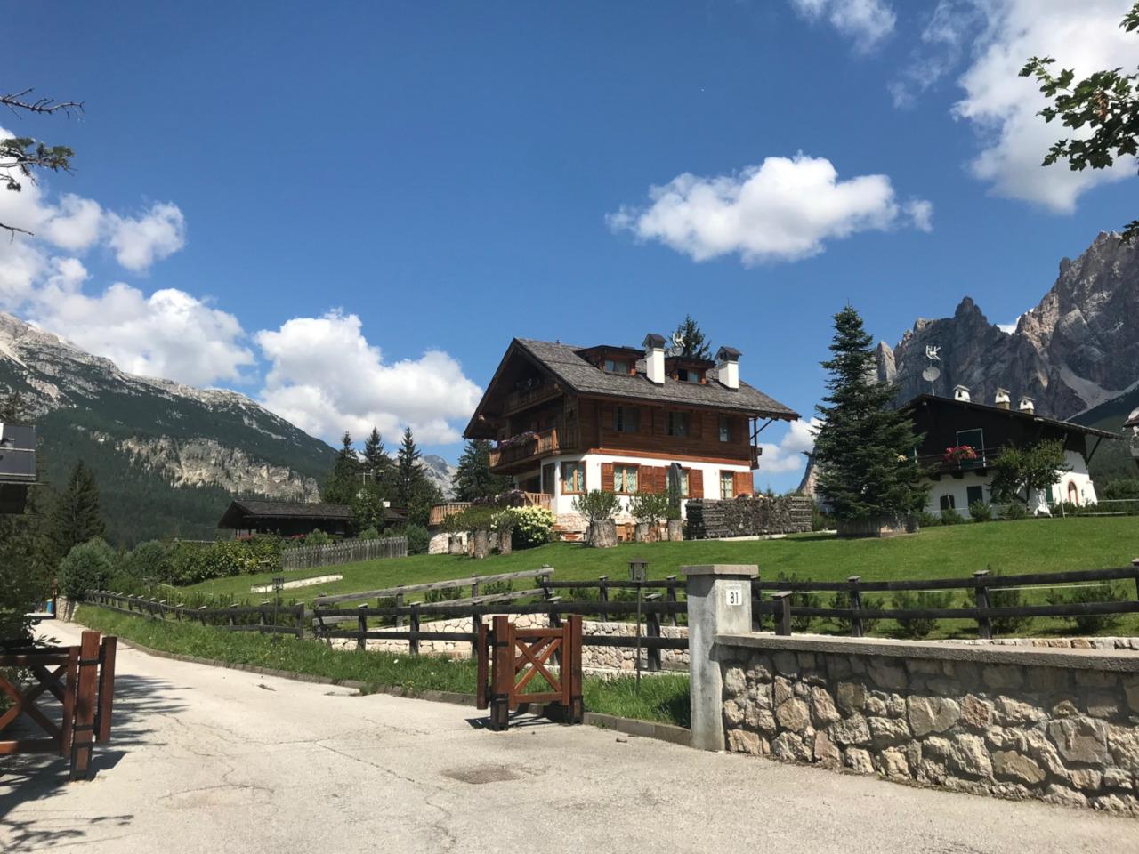 Progetto residenziale Cortina Cianderies