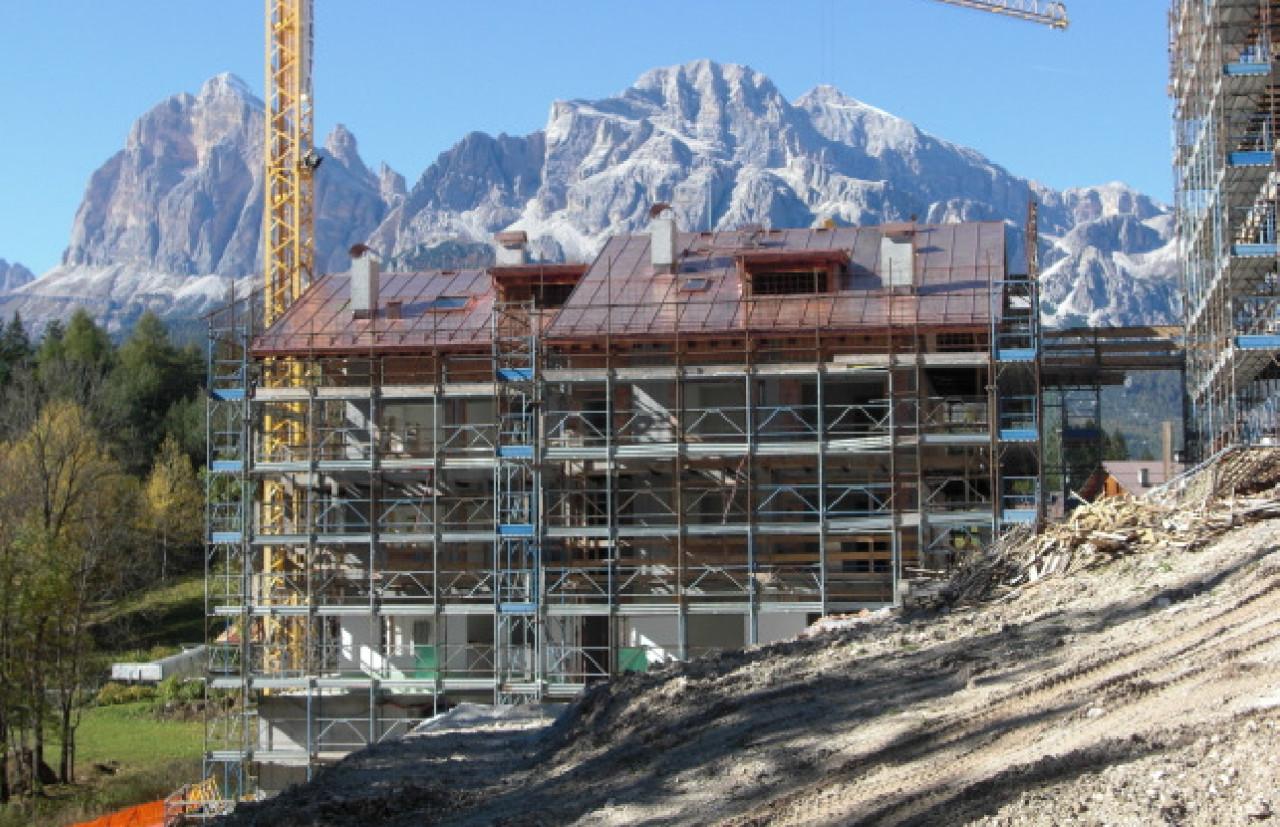 Progetto residenziale Cortina Ex. Ancillotto