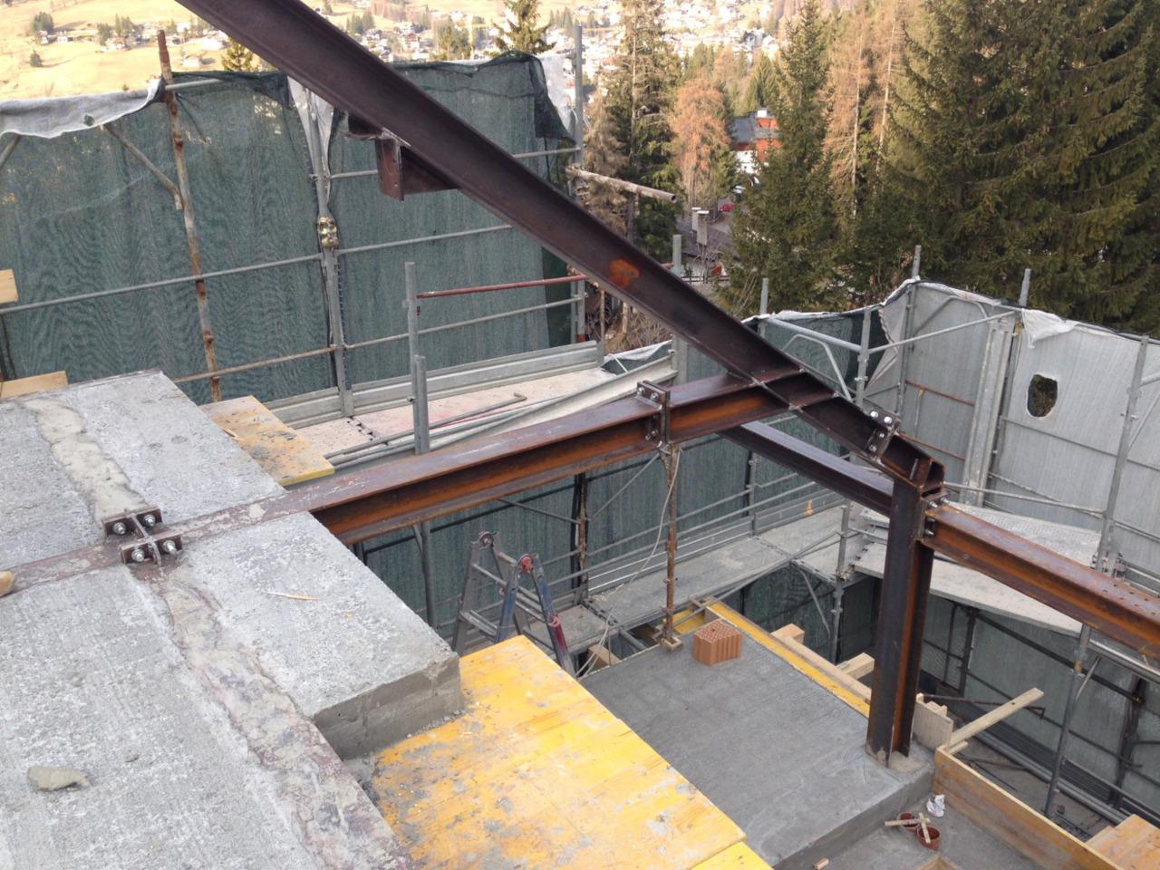 Progetto ristrutturazione residenziale Cortina Pralongo
