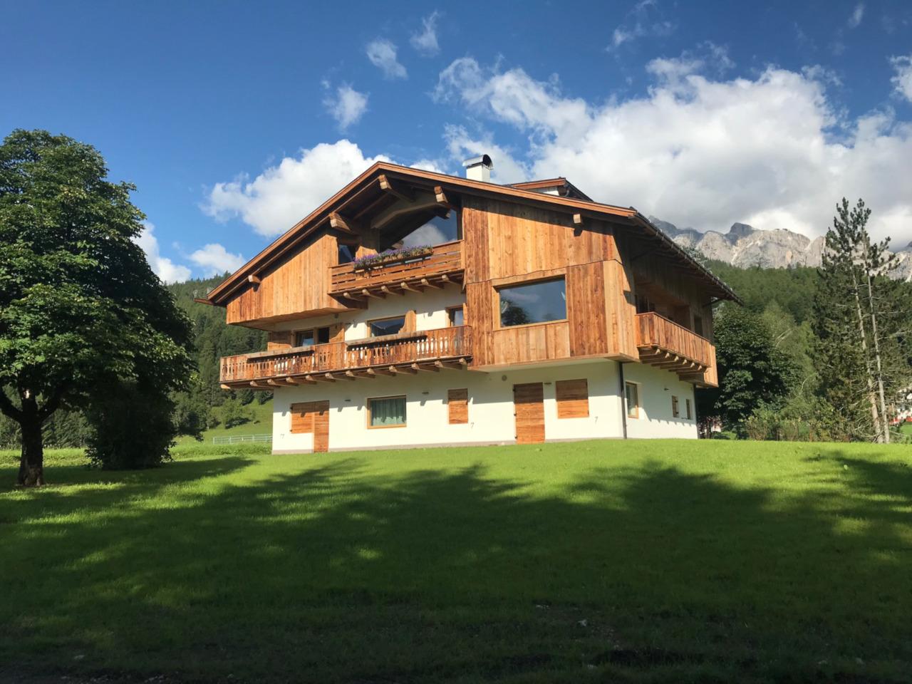 Progetto residenziale Cortina Campo