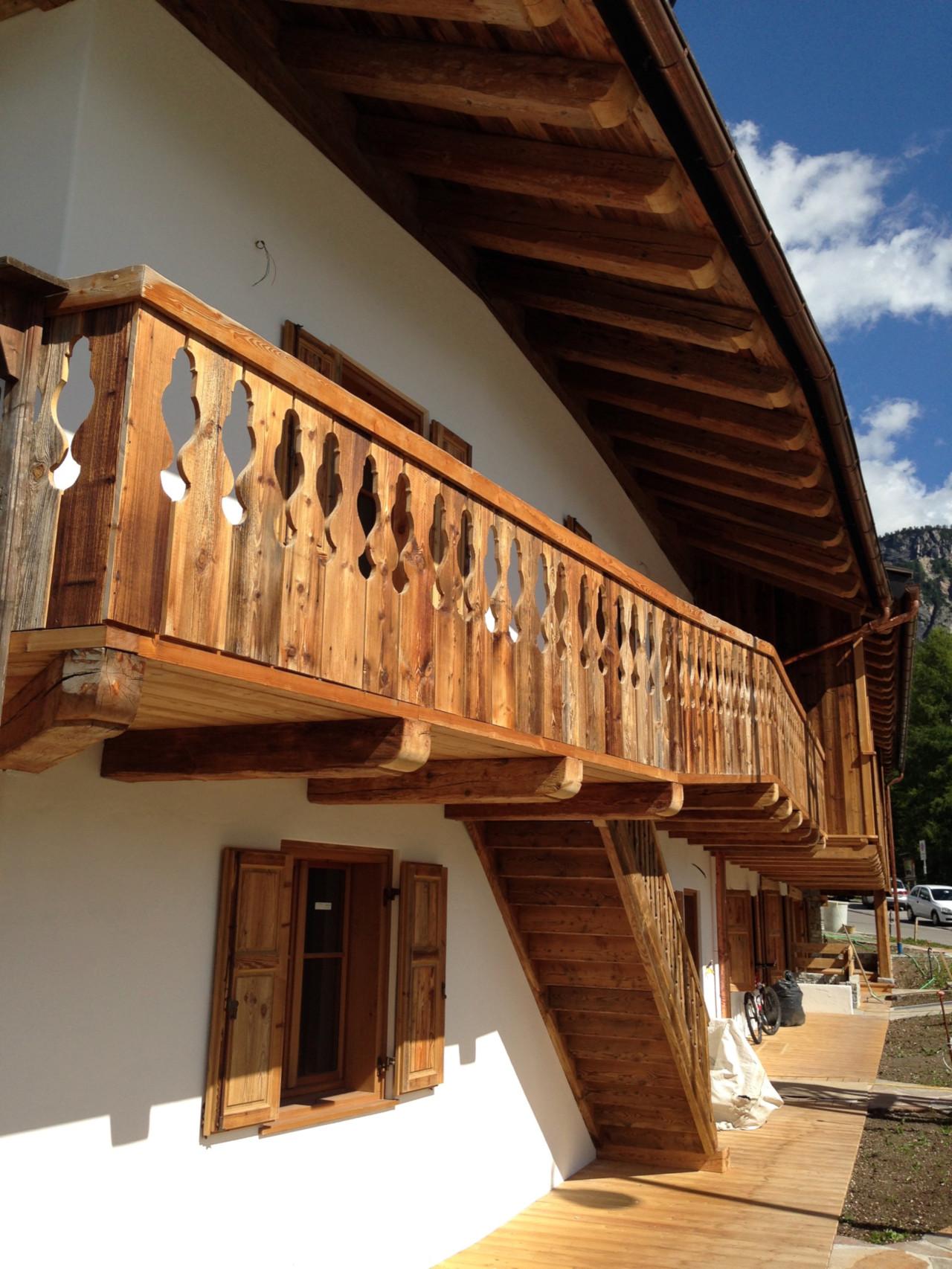 Progetto di ristrutturazione di una tipica casa ampezzana in loc. Alverà a Cortina d'Ampezzo