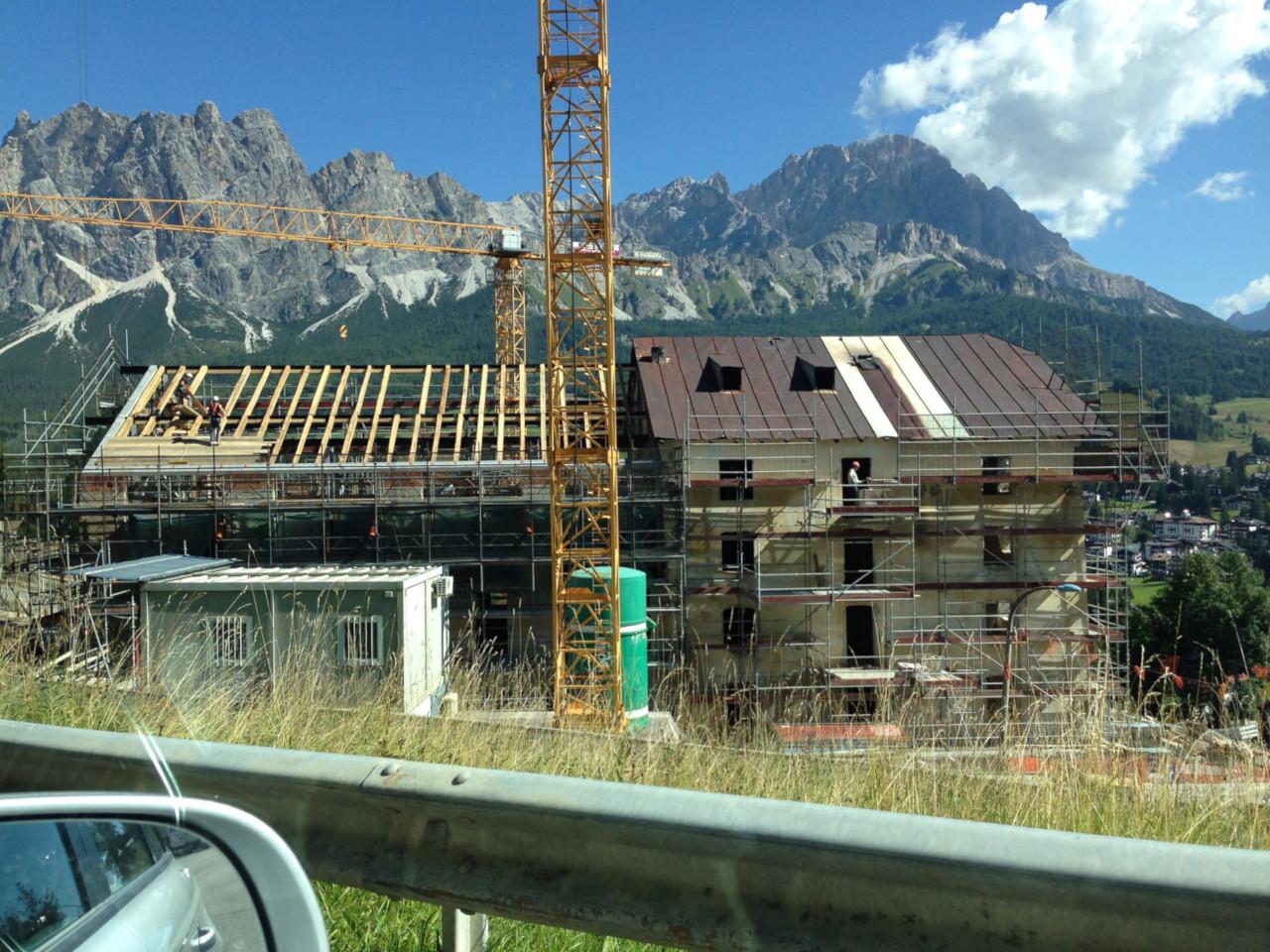 Progetto di ristrutturazione casa valle cortina studio mtd for Progetto casa ristrutturazione