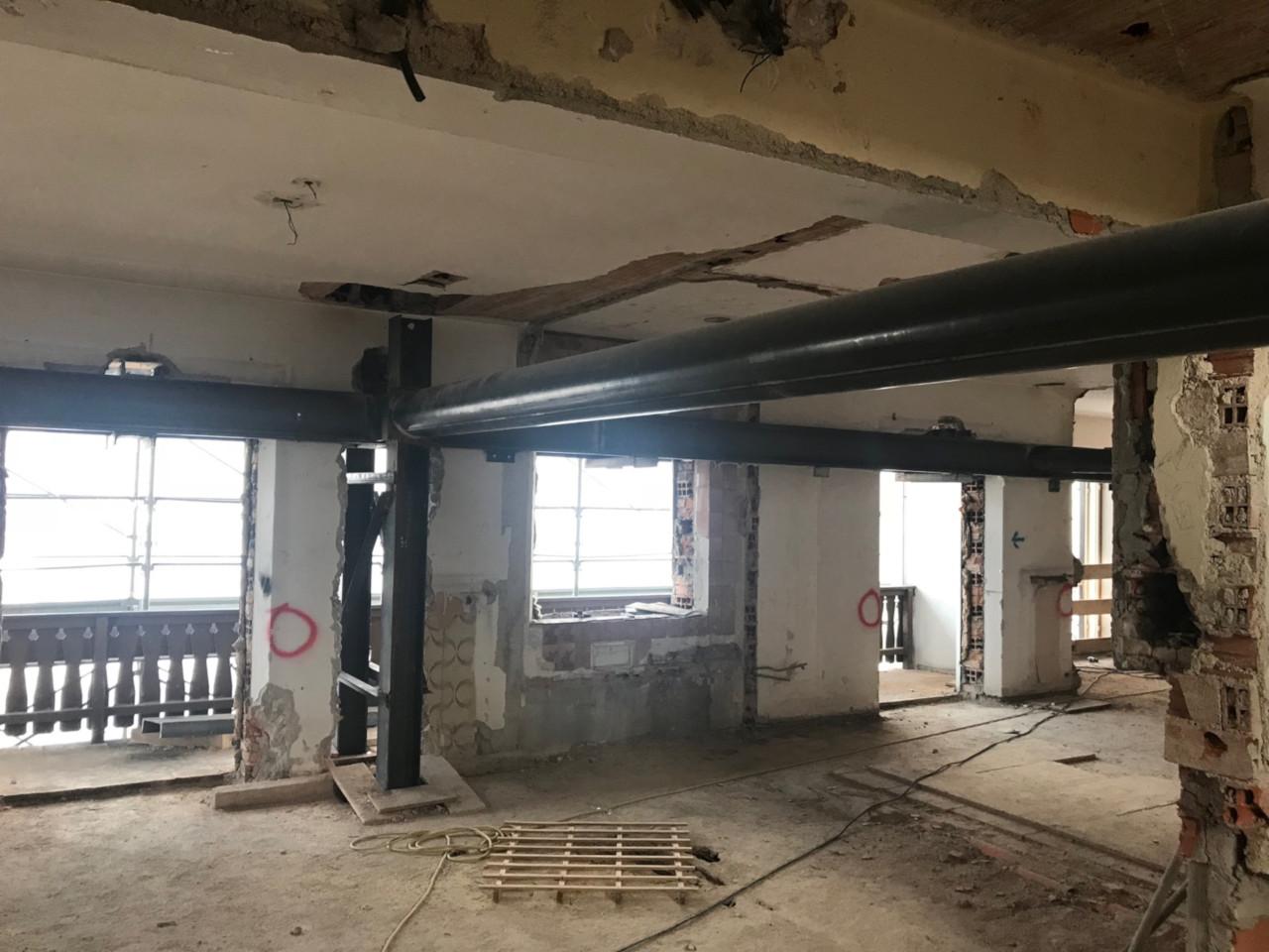 Progetto di ristrutturazione Hotel Impero a Cortina