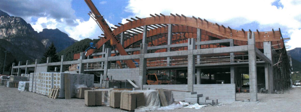 Progetto di costruzione del nuovo palaghiaccio di Claut
