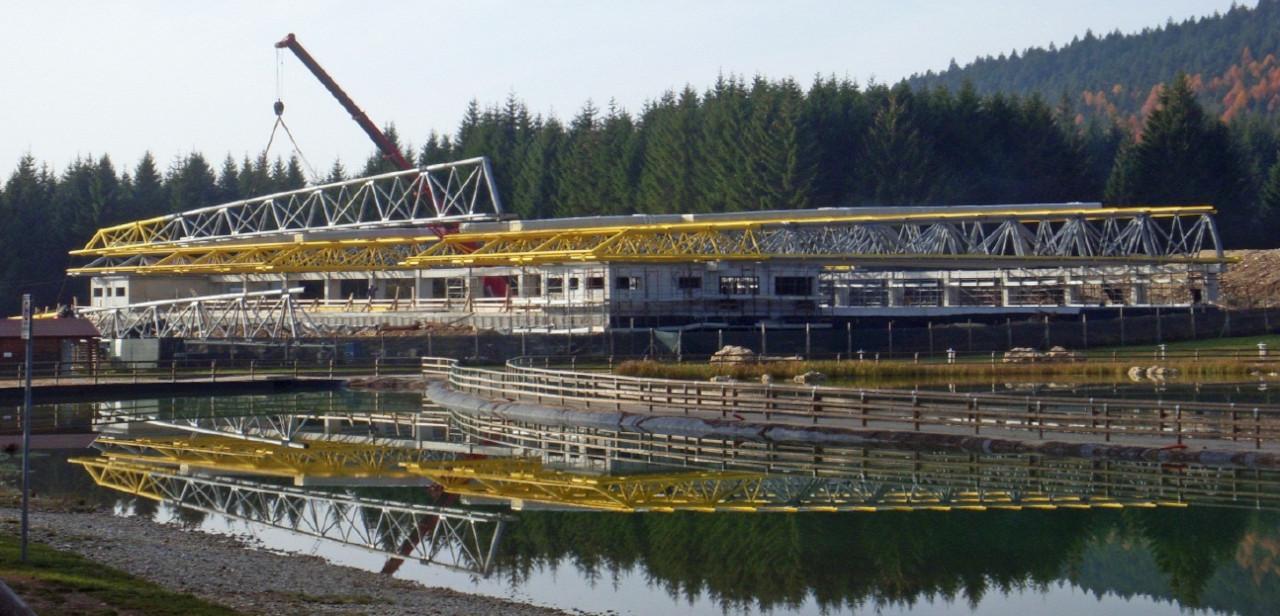 Progetto di costruzione del nuovo palaghiaccio di Roana